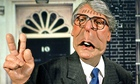 John Major in Spitting Image