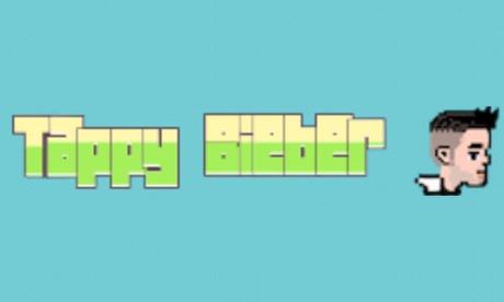Tappy Bieber é apenas um dos clones Flappy pássaro batendo na App Store.
