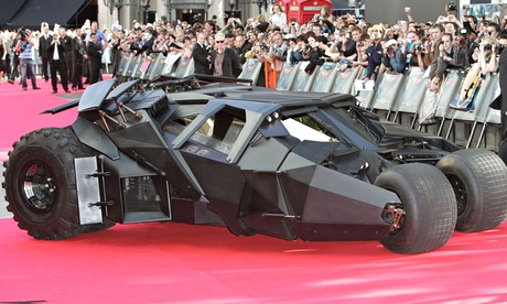 street legal batmobile goes on sale for 1m and even has a cd player film the guardian. Black Bedroom Furniture Sets. Home Design Ideas