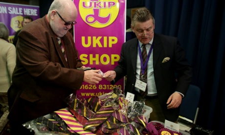 Ties and rosettes available at the Ukip shop.