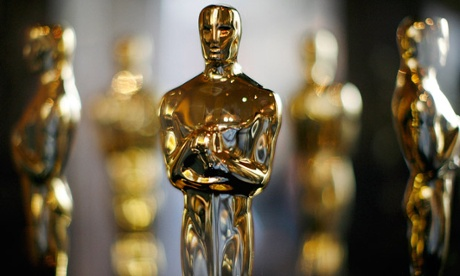 Oscar statuettes for the annual Academy Awards