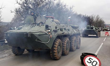 Crimea unrest - front slide