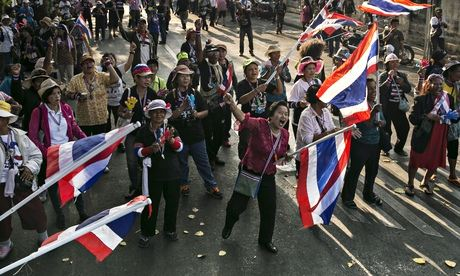 Thailand anti-government protesters