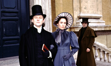 Patrick Malahide as Casaubon, Juliet Aubrey as Dorothea and Rufus Sewell as Will in the BBC's 1994 adaptation of Middlemarch. Photograph: BBC