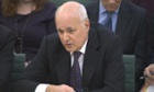 Iain Duncan Smith is giving evidence to the work and pensions committee.