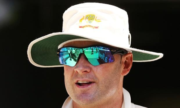 Australia captain Michael Clarke whose team have been frustrated by the weather at the start of their South Africa tour.