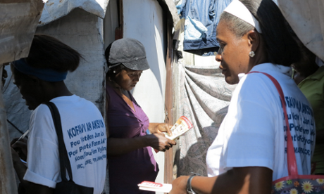Activists in Haiti