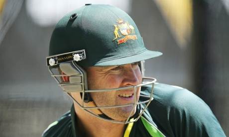 Michael Clarke faced nearly 30 minutes of bowling from his pacemen as the tourists continued to be frustrated by wet weather in South Africa.