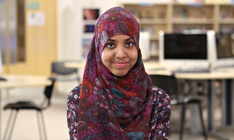 Fahma Mohamed the face of the FGM campaign