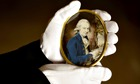 Portrait miniature of Paul Sandby painted by Philip Jean