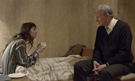 Charlotte Gainsbourg and Stellan Skarsgård in Nymphomaniac.