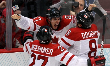 Will Sidney Crosby and his Canadian teammates be celebrating ice hockey men's gold again in Sochi?