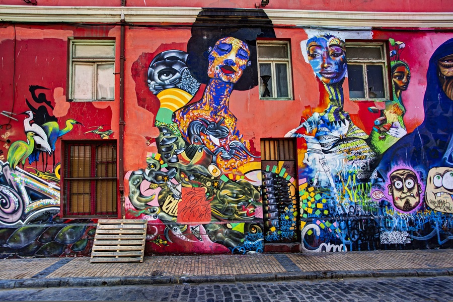 Chile Cool Art Music And Graffiti In Laid Back