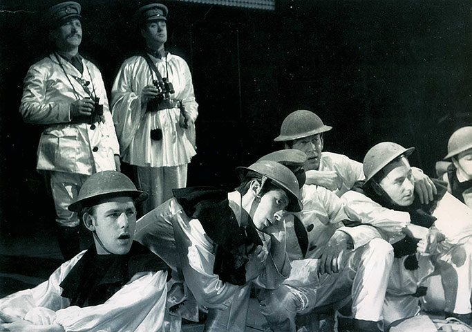 about oh what a lovely war the play by joan littlewood essay Oh what a lovely war is a theatrical chronicle  the play is now on the standard reading list of schools and  oh what a lovely war by: joan littlewood see.