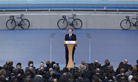 David Cameron Gives A Speech Urging Scotland To Stay