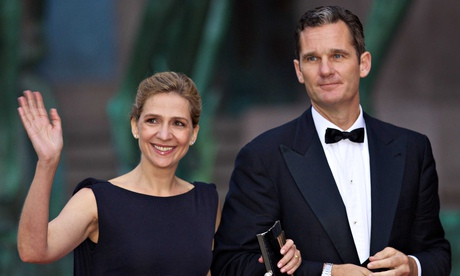 Princess Cristina and Inaki Urdangarin