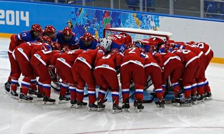Russian ice hockey players