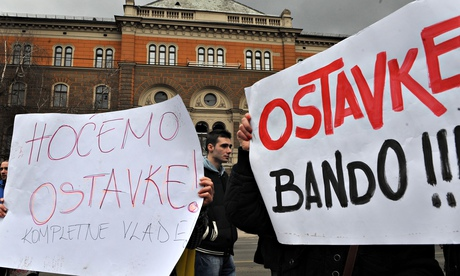 Bosnian protests