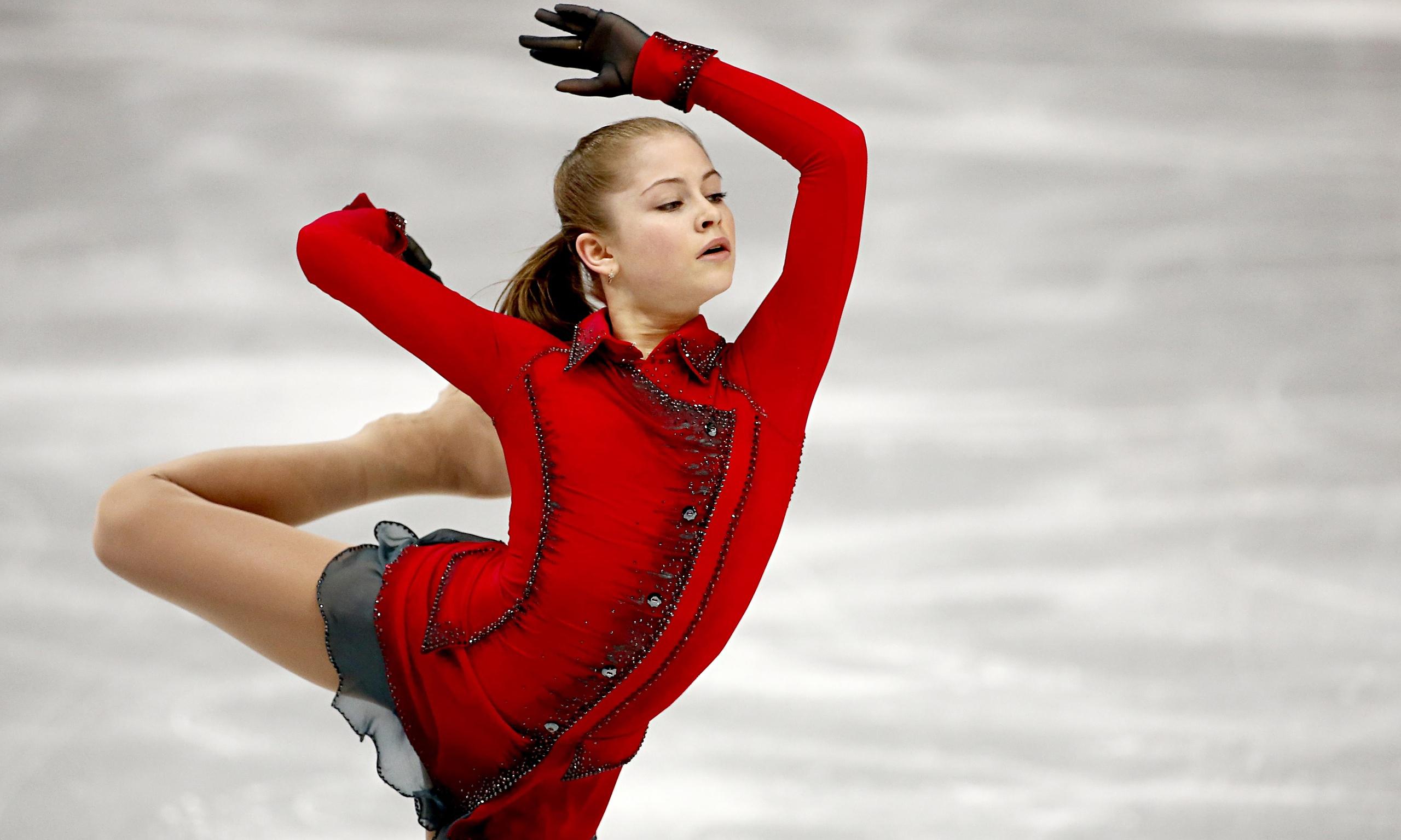 Yulia Lipnitskaya Gold Medal 404 | Guardian News &a...