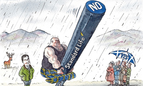 David Simonds cartoon on Scottish independence