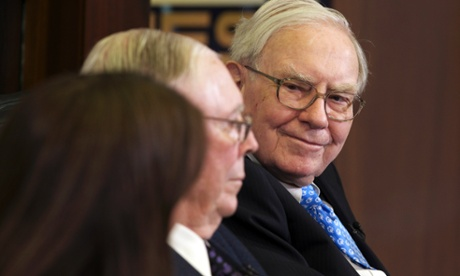 Warren Buffett's company reports rise in fourth-quarter earnings to $5bn