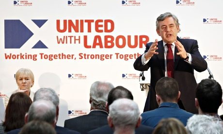 Gordon Brown unveils vision for Scotland