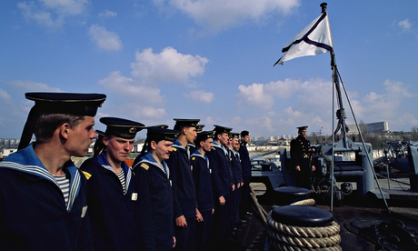 Sailors of Black Sea fleet