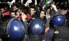 Jordanians protest outside Israeli embassy