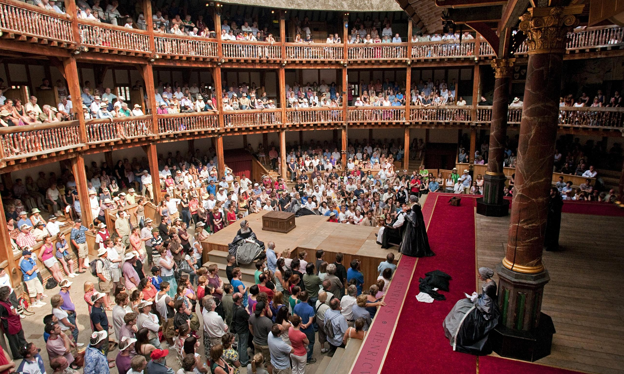 elizabethan theatre and its audience essay Read the structure and arrangement of the elizabethan theater free essay and over 88,000 other research documents  audience the elizabethan playhouse was small .