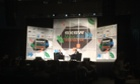 Upworthy CEO Eli Pariser on stage at SXSW.