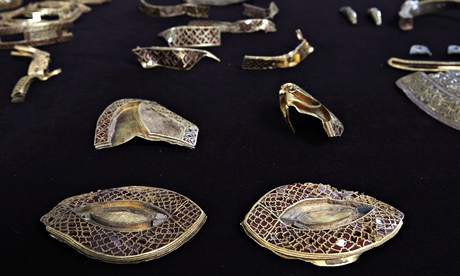 The Staffordshire hoard of Anglo-Saxon gold