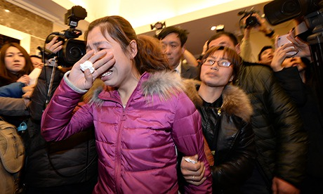 A family member of a passenger of Malaysia Airlines Flight MH370