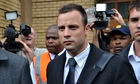 Oscar Pistorius clashed with police officer who took his gun, court told
