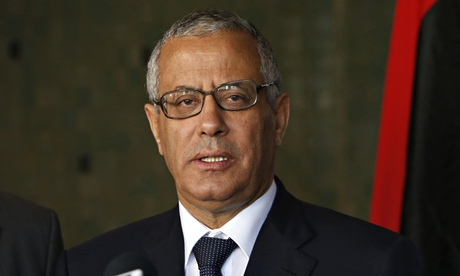 Most politicians in Libya are backed by militias with regional or ideological allegiances, many of whom may not accept Ali Zeidan's removal. Photograph: Abdeljalil Bounhar/AP