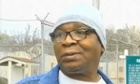 Glenn Ford, 64, talks to the media as he leaves the maximum-security Angola prison in Louisiana. Source: WAFB-TV 9