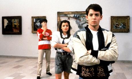 Alan Ruck, Mia Sara and Matthew Broderick in Ferris Bueller's Day Off