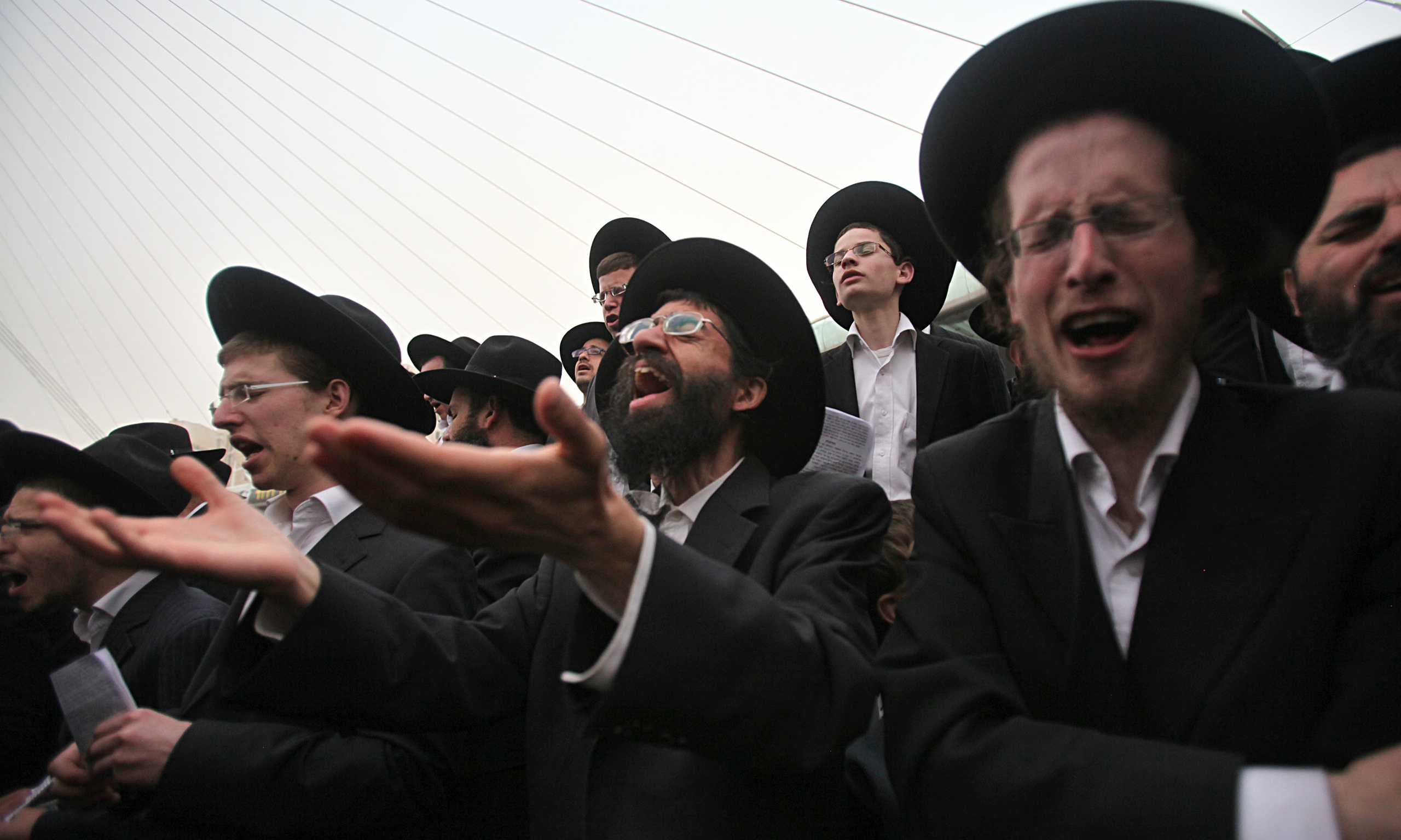 ultra-Orthodox Jew...