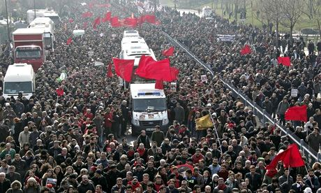 Istanbul funeral