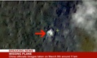 China says its satellite pictures may show wreckage of missing Malaysia airlines flight.