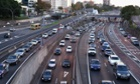 Sydney traffic in gridlock after the closure of the Western Distributor on Wednesday night because of a fire at Barangaroo