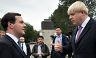 George Osborne and Boris Johnons