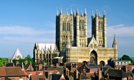 The skyline of Lincoln with its cathedral