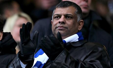 Tony Fernandes watches QPR