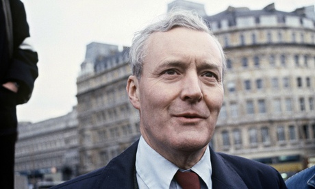 Tony Benn pictured in London, 1980.