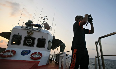 Search for Malaysia Airlines aircraft