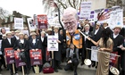 Cuts to legal aid have been the subject of nationwide protests by barristers