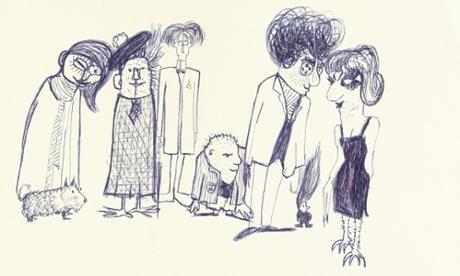 John Lennon's drawings, poems and prose