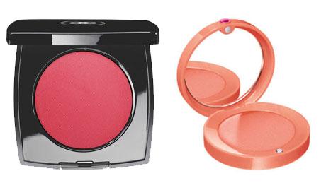 Chanel blush vs. Bourjois blush