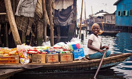 Grocery store in Makoko, Lagos, Nigeria