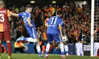 Gary Cahill scores for Chelsea
